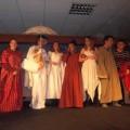 19 Déc 2013 : La nativité mise en scène par les 3ème pendant la célébration de Noël
