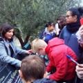 Novembre 2014 : les 4ème à la découverte des vertus de l'olive