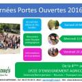 Inscriptions et Portes ouvertes 2016