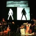 28 Janvier : les 4ème à Sortie Ouest pour «Bang» De la compagnie Volpinex Un spectacle écrit et réalisé par Fred Ladoué et Rémy Saboul