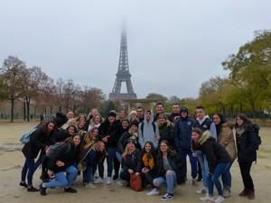 26 Nov 2018 : les élèves de terminale du lycée Les Buissonnets en voyage à Paris