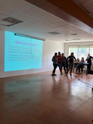 11 Oct 2018 : AG de l'association des élèves