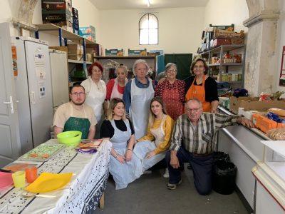 Ateliers cuisine de l'épicerie solidaire de Capestang