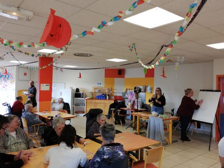 Read more about the article Les stagiaires de la formation SAPVER en animation à l'EHPAD