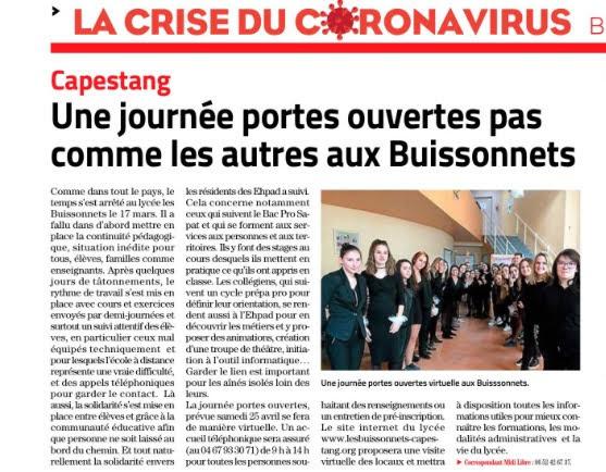 «L'alimentation saine et durable, ici et ailleurs» : les élèves des Buissonnets réunis pour cette belle action solidaire !