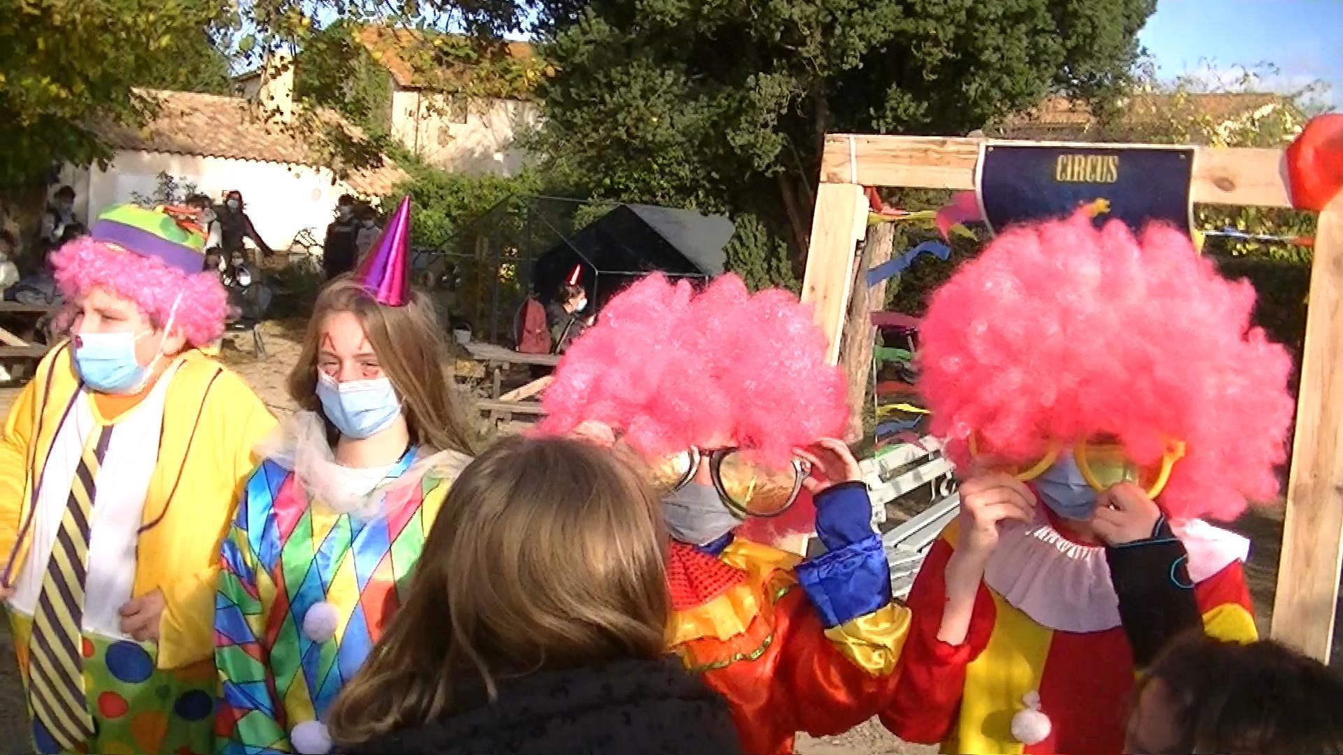 En EPI, les 4ème découvrent les métiers du spectacle et font leur cirque !