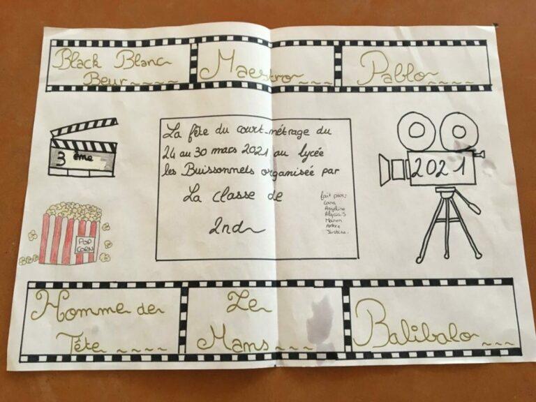 Mars 2021 : La fête du cinéma s'invite aux Buissonnets